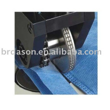 Ultrasonic sewing machine for non-woven products