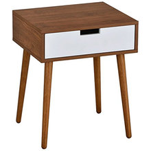 Wood veneer simple tv stand wood cabinet