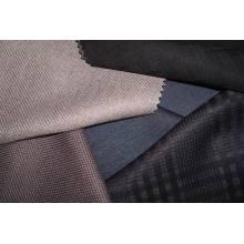 Tissu en mousseline de soie en laine