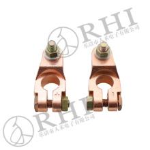Conector de coche Terminales de cable de la batería de cobre abrazaderas de la batería del coche