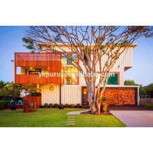 Casa de contenedores profesional en Sudáfrica / casa de contenedores prefabricados / contenedor casa casa