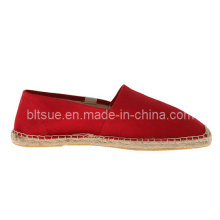 Red Men Casual Fashion Leather Boat Shoes