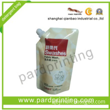 Stand up Laundry Packaging Spout Pouch Bag (QBD-1327)