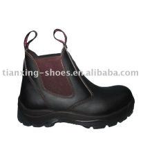 bottes à côtés élastiques