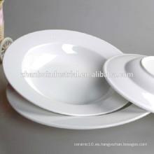 Hotel / restaurante durable porcelana OEM