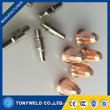 Воздуха плазменной резки Trafimet S45 электродом и мундштуком для резки S45