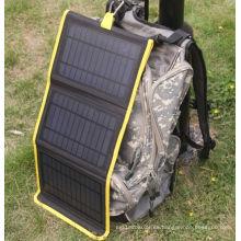 Bolso plegable del cargador de la energía solar del libro eléctrico del iPad del teléfono móvil 14W
