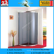 3-12mm Frosted Glass for Doors with AS/NZS2208: 1996