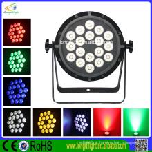 Lâmpada com bateria 18 * 3w rgbw 4in1 conduziu a luz do disco do par luz China conduziu a exposição