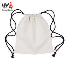 Factory wholesale cotton drawstring backpack