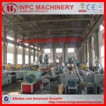 Machine composite en plastique en bois / machine wpc / ligne de production en plastique en bois