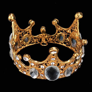 Small Baby Crown With Pearls