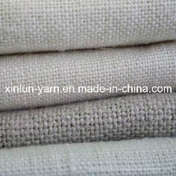 Solid Blend Linen Fabric for Garment/Curtain/Upholstery