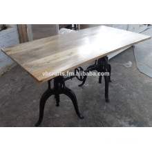 Cast Iron Industrial Dining Table