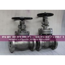 Válvula de globo de compuerta de acero inoxidable API CE ISO