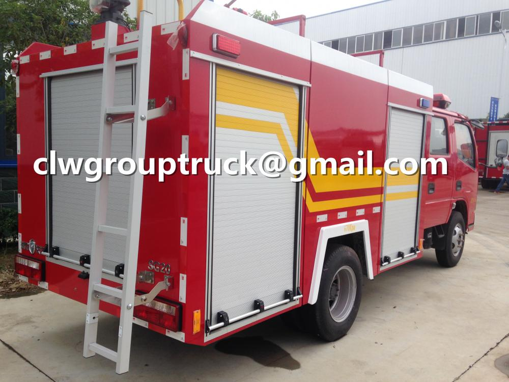 DFAC 2000L Water Tank Fire Fighting Truck
