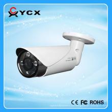 Popular OSD CVBS TVI Cámara CVI AHD 1080P Bullet 4 en 1 cámara Control inteligente IR Cámara híbrida resistente a la intemperie