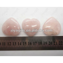 valentine's day gift wholesale-natural gemstone heart,Rose Quartz heart