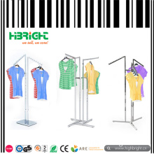Three Way Arms Garment Clothes Display Rack