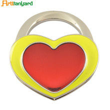 20 Years Factory for Custom Heart Bag Hanger Heart Zinc Alloy Bag Hanger supply to Japan Exporter