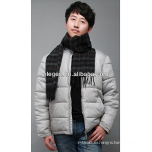 Hombres de alta calidad de moda lana lana toda la bufanda de marzo / mantón