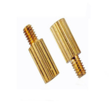 Hight qulity brass knurling impasse masculino / feminino