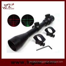 3-9X40 40mm Red/Green Illuminated Crosshair Scope