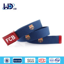 Factory Made Rubber Printing Sports Web Kids Belts
