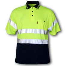 Class 2 T-Shirt with Moisture Wicking Green