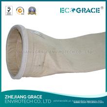 Saco de filtro composto da coleção de poeira da eliminação de gás