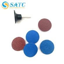 Disco abrasivo de cambio rápido para rectificado de metales