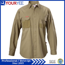Camisas de manga larga personalizada para hombres (yws111)