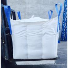 FIBC jumbo tonne sac 1000 kg avec des sacs d'alimentation de bec de chargement ou pour la chaux en vrac avec le prix d'usine