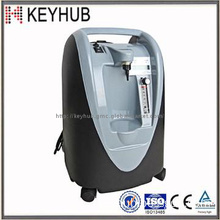 PSA oxygen concentrator with continuous flow
