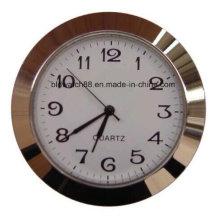 아랍어 숫자가있는 미니 인서트 시계