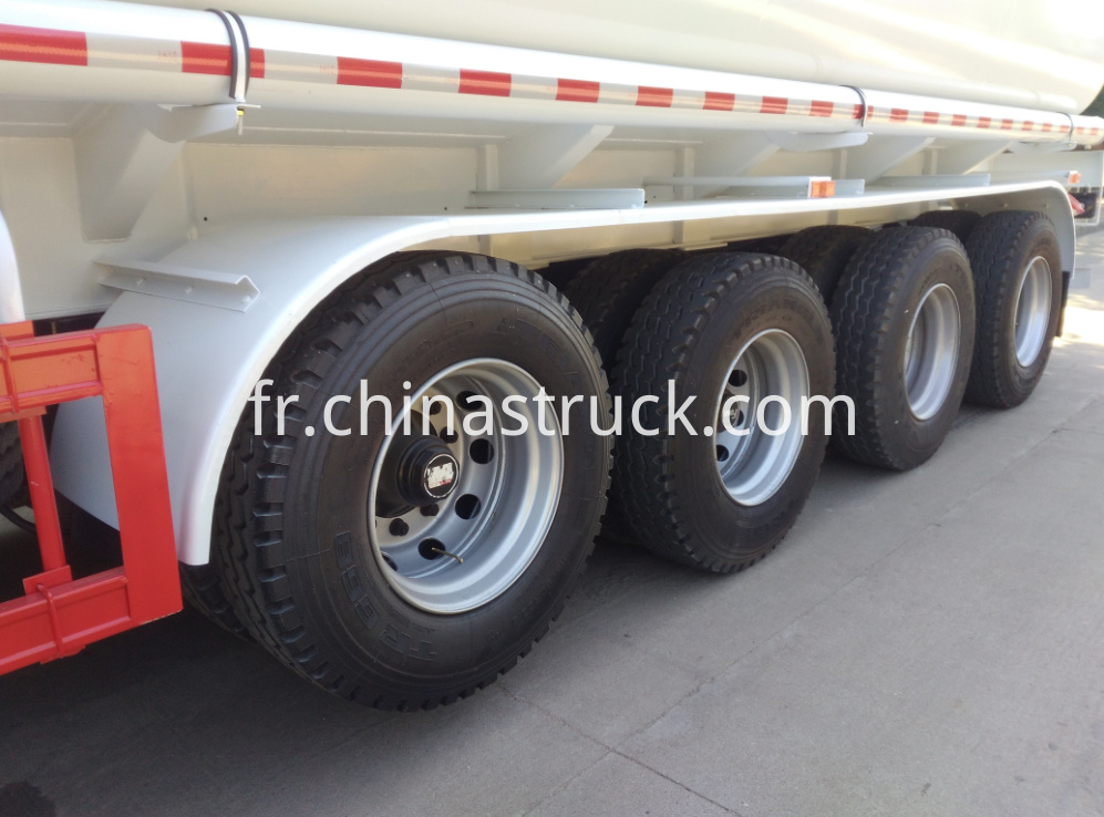 4 axle 50CBM oil tanker trailer