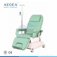AG-XD206 höhenverstellbar zwei Motoren Krankenhaus Dialysestuhl Hersteller