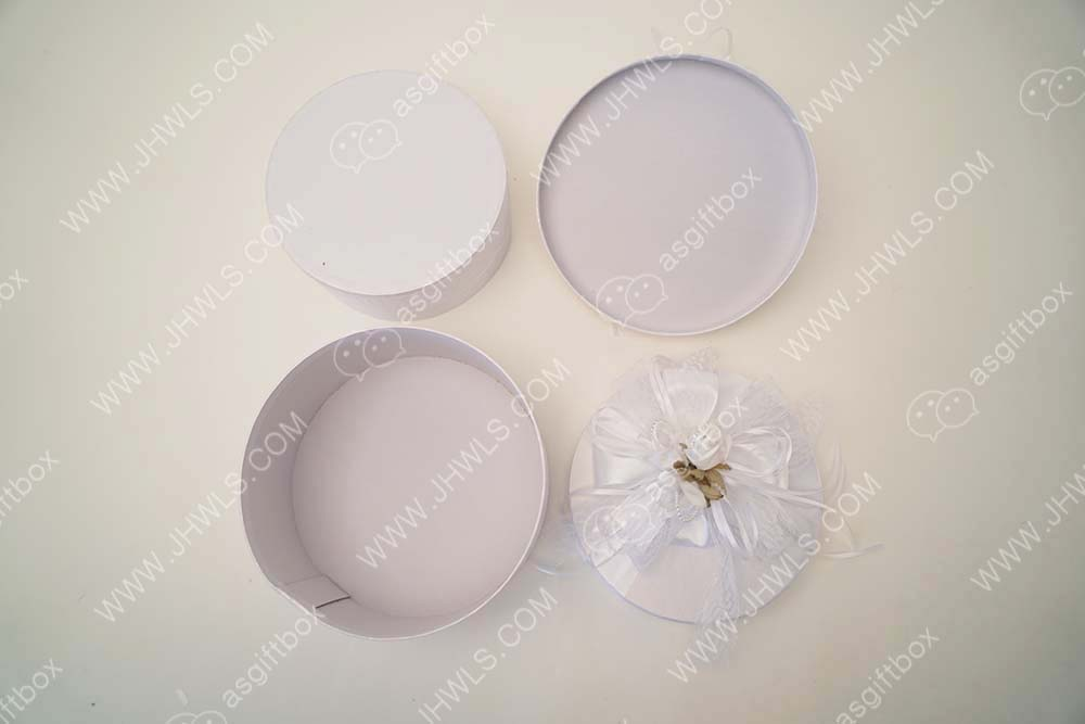 Round wedding gift box
