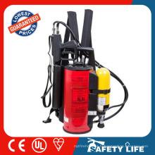 Extincteur d'incendie de brume d'eau standard de sac à dos de la CE