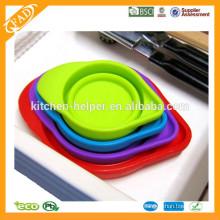 4 Taille 200ML Outils de cuisson Coupe de mesure en silicone doux et doux à base de silicone, pâte à mesurer en silicone