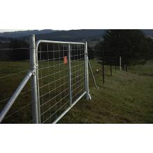 Αγρόκτημα παρεμβαλλόμενης πύλες πλέγμα - θα μείνετε