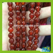 joyería de moda al por mayor piedra de rubí piedra preciosa de ágata natural joyería suelta perlas