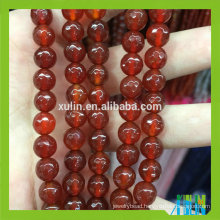 wholesale fashion jewelry ruby stone natural agate gemstone stone loose jewelry beads