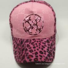 Gorra de béisbol de encargo del diseño atractivo, casquillo caliente del invierno