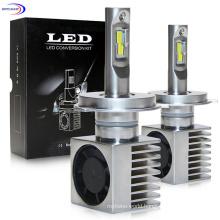 7200lm LED Headlight Bulbs 12V 35W Heat Conduction Air Cooling LED Headlight Bulb 9007 Cooling Fan 9005 9006 H11 H7
