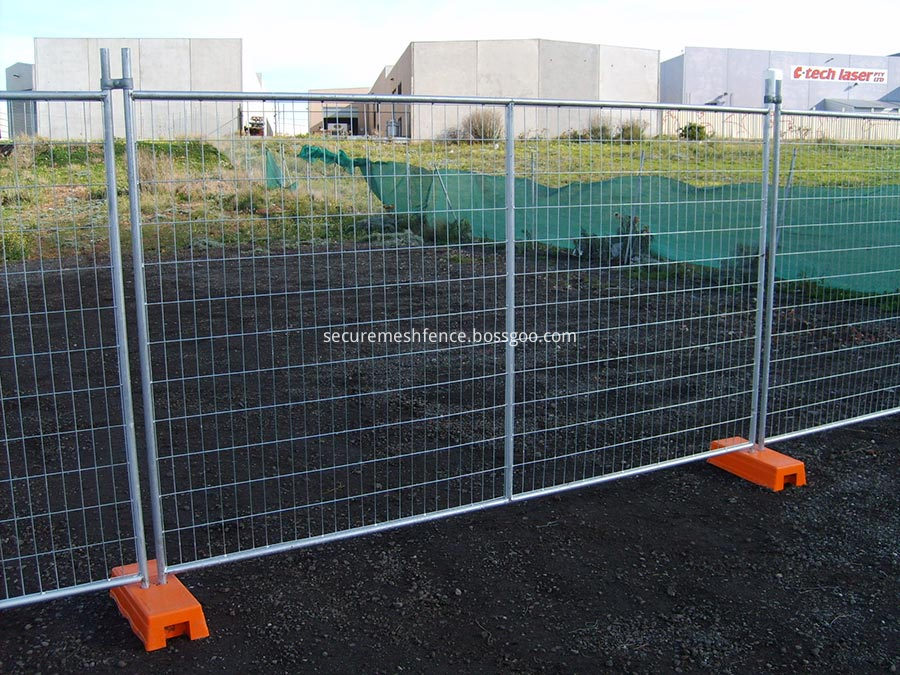 Events Control Temporary Fencing specification