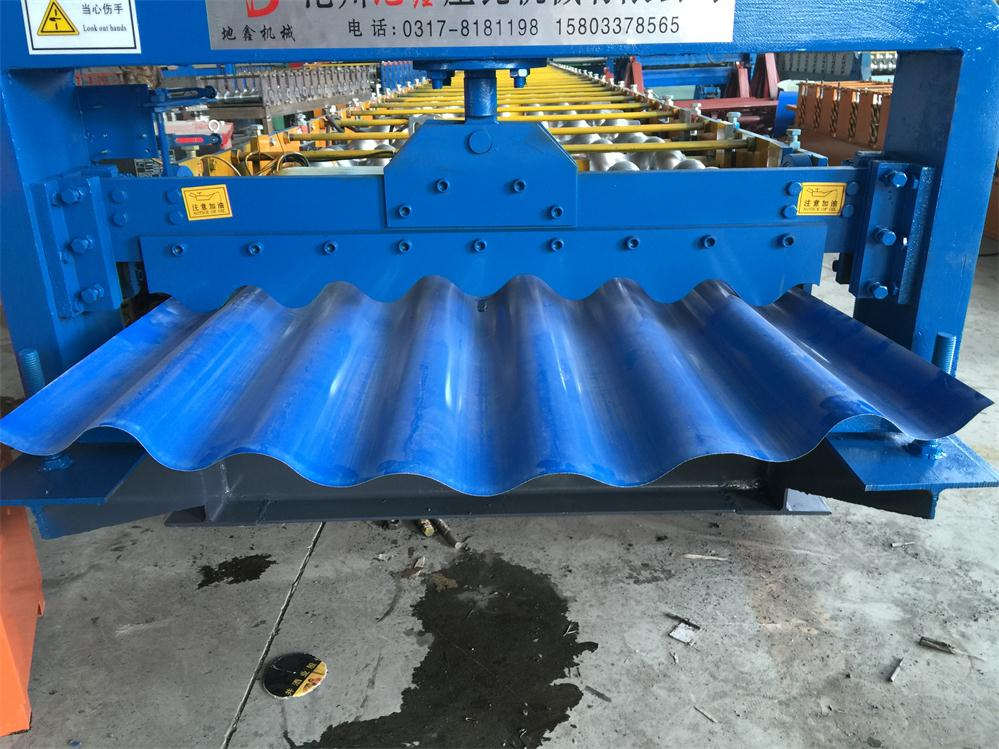 Corrugated Steel Sheet Metal Roof Wall Panel Machines