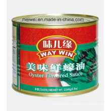Flavored Oyster Sauce in Can