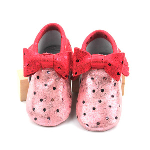 Bling Bling Fashion Bow Baby Girls Mocasines