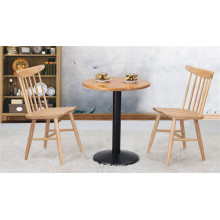Coffee Table Chairs Set Solid Wood Furniture (FOH-BCA19)